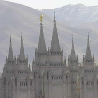 Salt Lake City Utah - Temple Square